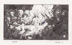 Mike Mignola Father Gaetano's Puppet Catechism page 31 Comic Art