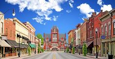 "Bardstown, KY winner of Most Beautiful Small Town in America; Main Streets ""Rule the Road."""