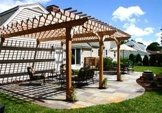 Attached Pergola can be made as detached also very easily...