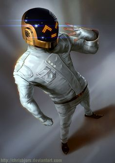 Daft Punk by ~ChrisBjors on deviantART