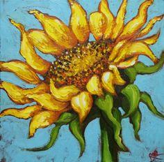 Brighten my day, in a sunflowery way!
