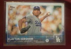 2015 Topps Series 2 Award Winner Clayton Kershaw 545 LA Dodgers in Sports Mem, Cards & Fan Shop, Cards, Baseball | eBay