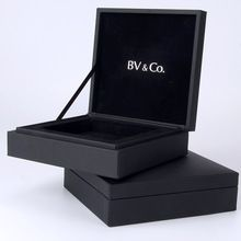 2016 hotsale vintage black small luxury jewelry box packaging