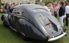 1937 Alfa Romeo 2300 Pescara Pinin Farina Berlinetta - green - rvl