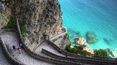 Krup Street on the isle of Capri, Italy. Photo: 123Rf