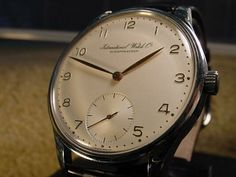 Ruminations on the International Watch Company [2/13/01] | TimeZone