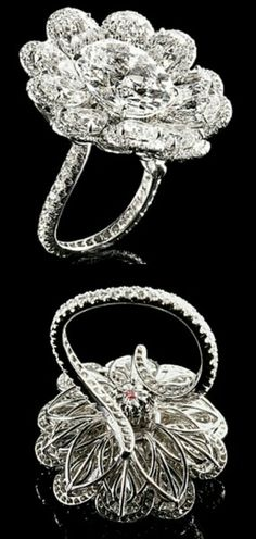 J.W. Currens Ring.  ~ I love this ring attention to detail in the setting, just as beautiful on the bottom as on top!