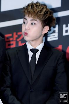 Xiumin- Perfect explanation as to why I think he's the cutest member.♥