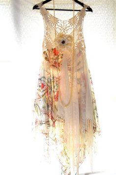 Gypsy fringe dress, Bohemian gypsy clothing – True Rebel Clothing