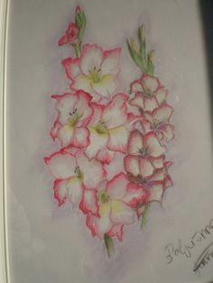 gladiolus tattoo | gladiolus tattoos - Google Search