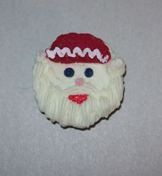 Soap Santa Cupcake!
