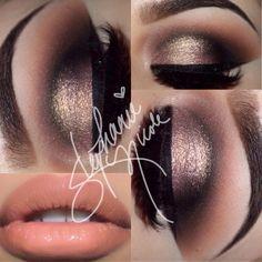 Makeup by Stephanie Nicole: Warm Smoky Eye