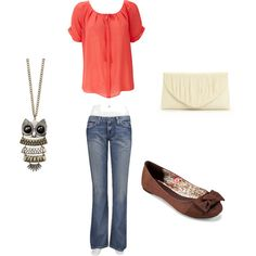 casual spring, created by freshadventurer.polyvore.com