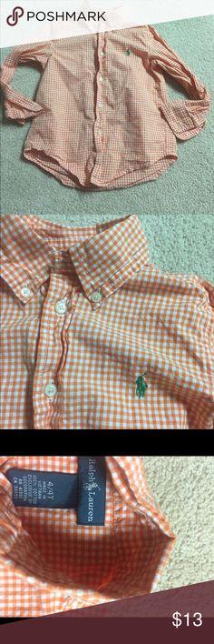 Ralph Lauren Plaid Shirt Boys 4 Ralph Lauren Plaid Shirt Boys 4 Ralph Lauren Shirts & Tops Button Down Shirts