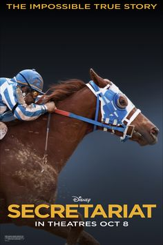 Secretariat - Considering I already knew how this movie was going to end, I thoroughly enjoyed it anyway!
