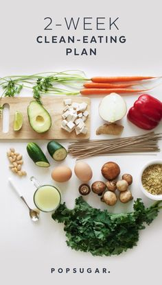 Here's our easy -to-follow 2-Week Clean-Eating Plan with recipes, shopping lists, and a printable daily rundown of what to eat and what to prep. You eat three meals a day plus a snack and a treat. And you can start the plan at any time.