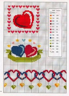 Cross Stitch *<3* Point de croix Heart