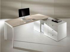 Descarga el catálogo y solicita al fabricante Cowork | escritorio de oficina de esquina By ift, escritorio de oficina operativo de esquina con cajones, Colección cowork