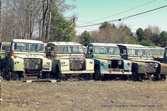 Rocky Coast News: The Best of 2012: Land Rover Graveyard Gallery By Maine Artist Doug Mills