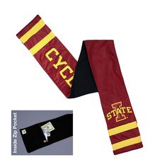 Iowa State Cyclones NCAA Jersey Scarf