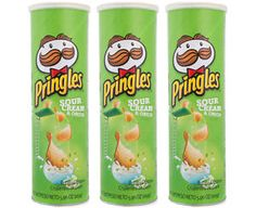 Buy Online Pringles Sour Cream & Onion 169 GM for Rs.259/- #pringles  #sour  #cream  #onion