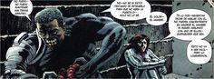 marvel zombies black panter y avispa enserrados y platicando de sus problemas