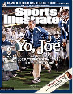 PENN STATE – NEWSWORTHY – Joe Paterno, Football, Penn State