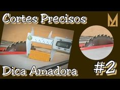 Cortes de precisão na Serra Circular de Bancada - Dica Amadora #2 - YouTube