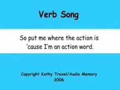 ▶ Verb Song - YouTube