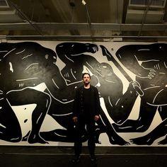 Me in front of painting at Agnés B's Hong Kong gallery for Far East Far West show. Had a great time last night. @agnesb_asia @agnesb_officiel@philippebaudelocque @cleonpeterson @sowat_dmv @vegetalistas @wais1@parentsparents @sinic_choy @caratoes @mr.barlo @benoit.jammes @elise_epices by cleonpeterson