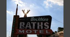 The Buckhorn Mineral Baths opened in 1939 and have been an occasional stop for spring training baseball players in the Cactus League for more than 50 years. Mark Peterson/Redux