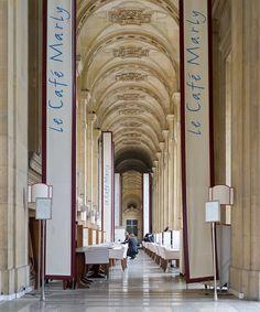 Restaurant Café Marly à Paris, near Le Louvre Museum - Beautiful Paris, I Love Paris, Design Despace, Louvre Museum, Paris Flat, Visit France, Paris Hotels, Paris Street, Paris Travel