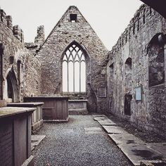 Inside the ruins of Ross Errily Friary, Co Galway #irisharchaeology #galway #medieval #loves_ireland #wanderlust # ireland #discoverireland
