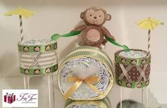 I hope you love this set as much as I enjoyed making it! This Little Drummer Boy Diaper Set can serve double duty by being used as a centerpiece for a baby shower and a fabulous gift for the parents! How cute! www.tayztyme.com