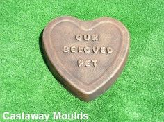 Gardening plaque mold reusable mould We come from the Earth