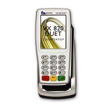 (VX Verifone VX 820 DUET - The VX 820 DUET is a dual-user, feature-rich countertop card payment machine with functionality that meets both merchant and consumer needs.Verifone VX 820 DUET-The VX 820 DUET is a dual-user, feature-rich countertop card p Easy To Use, Customer Experience, Countertop, Desktop, Environment, Base, Touch, Colour, Stylish