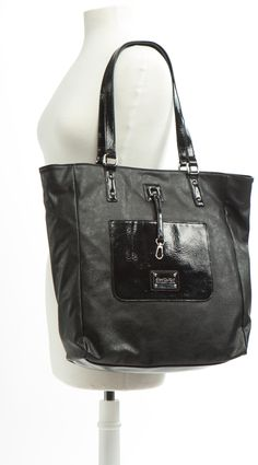 Keeper Tote - Black by Kenneth Cole $44