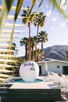 StudioDIY // DIY Giant Beach Ball Message