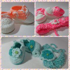 Trabajos tejidos  a crochet por mi hija
