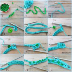 Lazy Daisy Jones crochet bracelet : how to