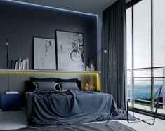 Love the black artwork | For the Home | Pinterest