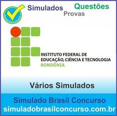 Concurso IFRO 2014.  Novos Simulados e Questões do IFRO 2014.  http://simuladobrasilconcurso.com.br/simulados/concursos/?filtro_concurso=1303  #SimuladoBrasilConcurso, #ProvaIfro