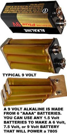 Everyone Should Know This Diy Electronics Energy Storage 9 Volt Battery