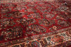 sarouk rugs   Persian Sarouk Rug Runner 6' x 12'