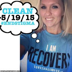EVERYONE GIVE MELISSA A BIG WOOHOO AND CONGRATS!!!! Melissa from @MyTruthStartsHere is a proud sober mommy rocking her I AM RECOVERY tee from the SFY Vault! We couldn't be more proud of your clean time and recovery efforts! YOU ROCK GIRL!!!!   For your recovery tees go to SubstanceForYou.com or click the link in our bio to quickly redirect to our site!   #recoveryispossible #sober #sobriety #sobermovement #Soberissexy #partysober #recovery #addictiontreatment #addictionrecovery #recoveryroad…