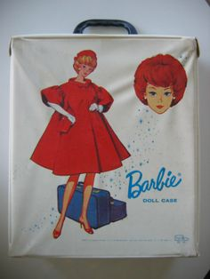 Image detail for -Vintage BARBIE case with clone clothes Vintage 60's by nancynaz