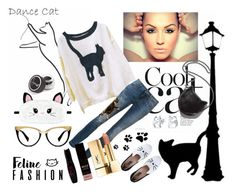 """""""#catstyle"""" by alena-hodzic ❤ liked on Polyvore featuring Dolce&Gabbana, Karl Lagerfeld, STELLA McCARTNEY, Boohoo, Sigma, Bling Jewelry and catstyle"""