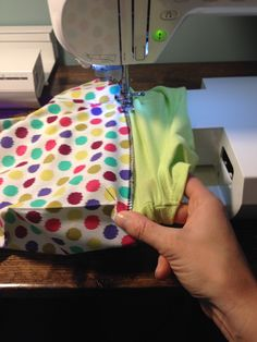 Baby Onesie to Baby Gown :: handmade inspiration :: DIY tutorial :: clear…