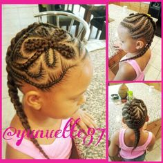 # Natural hairstyles Source by styleshairfashion Little Girl Braid Hairstyles, Little Girl Braids, Baby Girl Hairstyles, Natural Hairstyles For Kids, Kids Braided Hairstyles, Braids For Kids, Girls Braids, Natural Hair Styles, Kid Braids