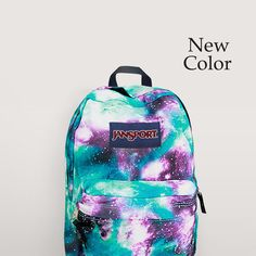 New trendy take on the classic JanSport backpack, so fun! #backtoschool #trends #backpack